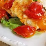 chicken tomato basil on plate