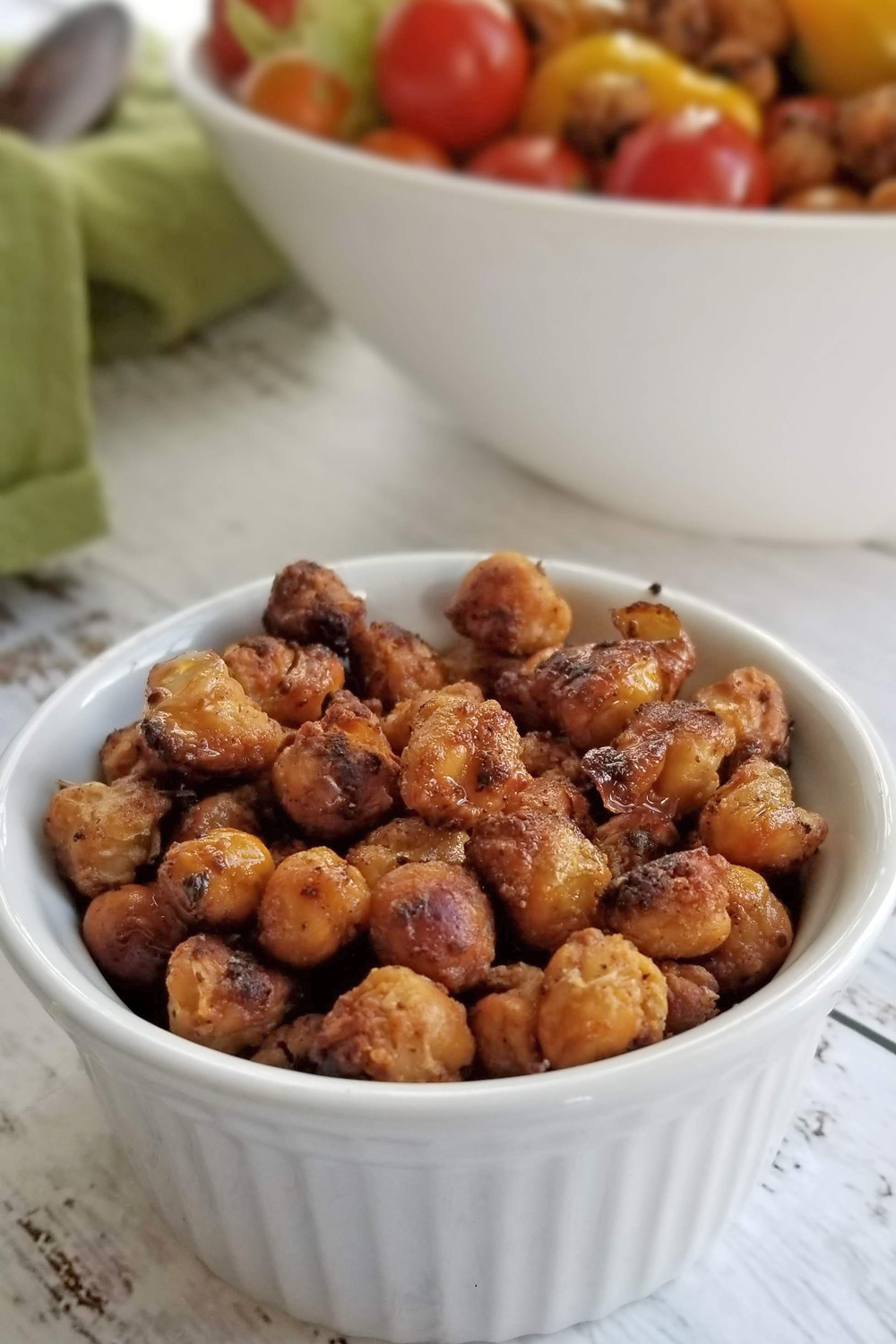 chickpeas in bowl
