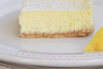 lemon bar on plate