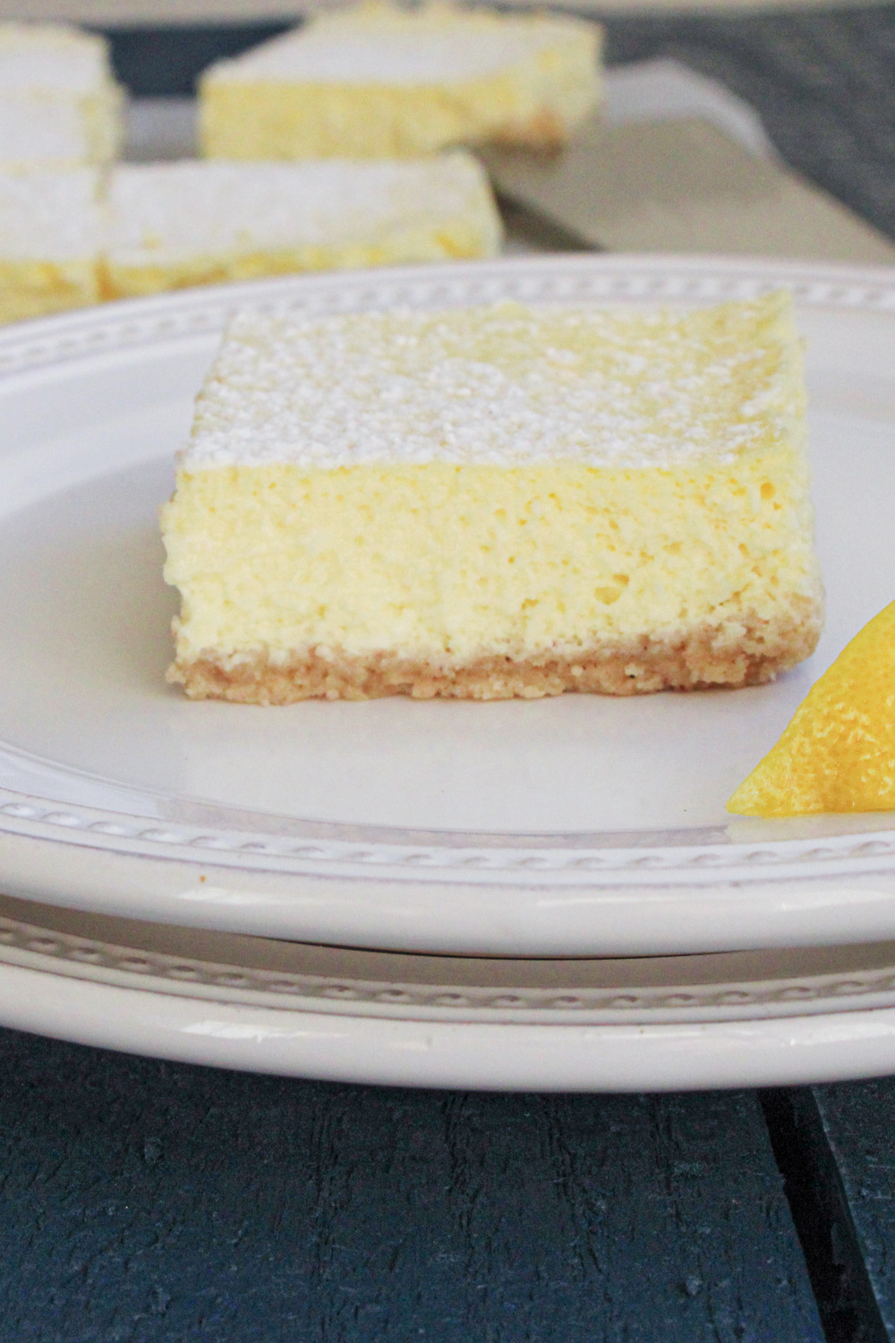 lemon bar on plate