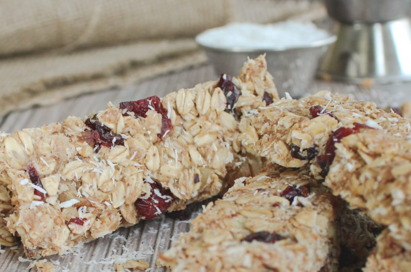 introducing your new favorite snack: high protein, gluten-free granola bars