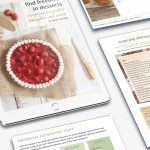find freedom in desserts on tablet