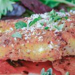 chicken cutlet with oregano